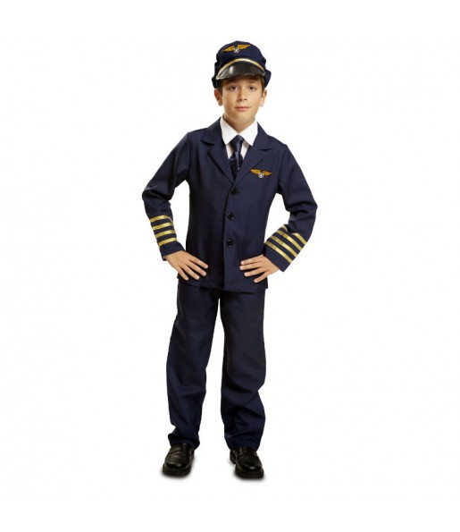 Déguisement Pilote Avion Enfant