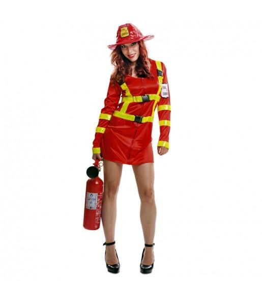 Déguisement Pompier Femme
