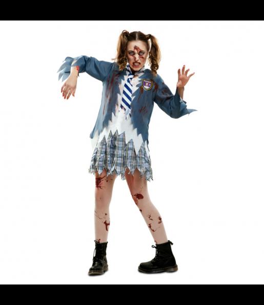 Déguisement Étudiante Zombie