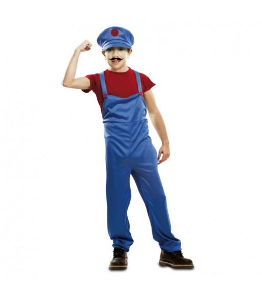 Déguisement Plombier Super Mario