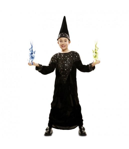 Déguisement Magicien Merlin l'Enchanteur enfant