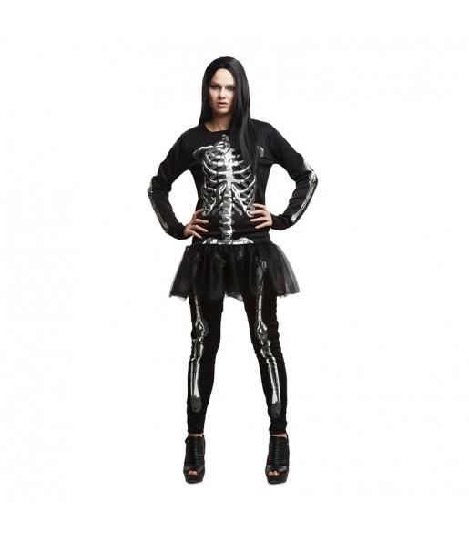 Déguisement Squelette Femme Adulte