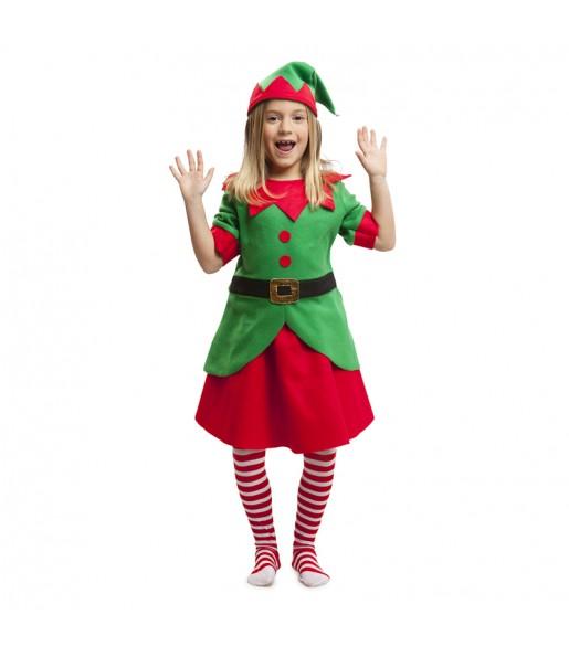 Déguisement Elfette Noël Enfant