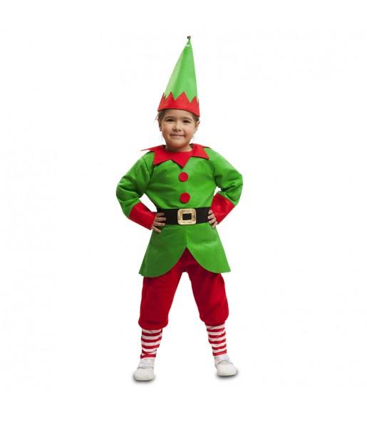 Dëguisement Lutin Noël Enfant
