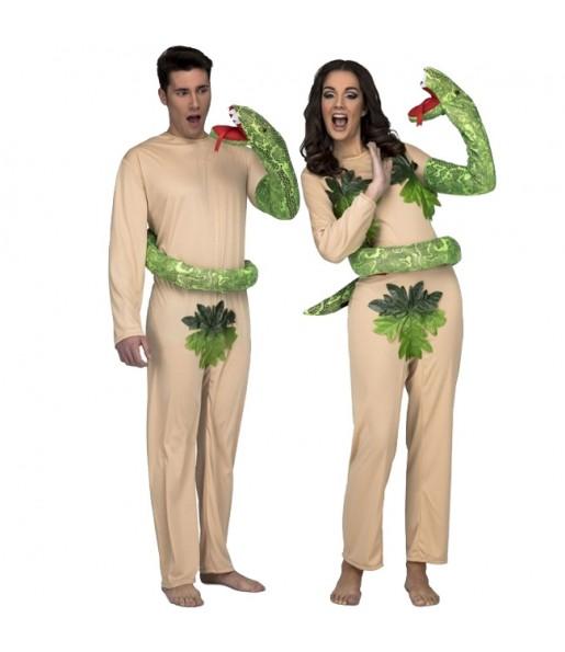 Déguisement Adam et Eve au paradis