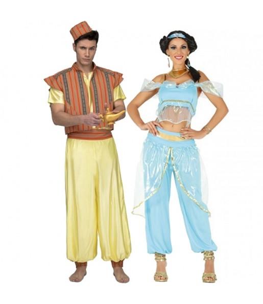 Déguisements Aladdin et Jasmine
