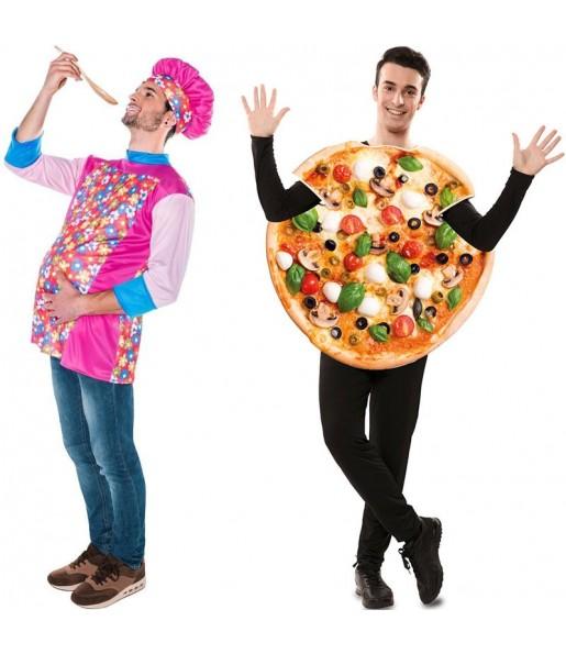 Déguisements Master Chef et Pizza