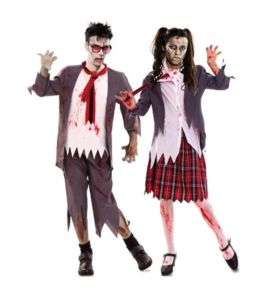 Déguisements Écoliers zombies sanglants