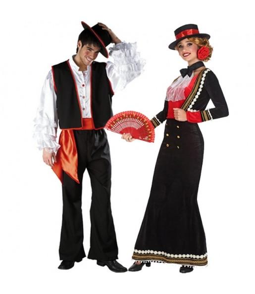 Déguisements Flamenco Noirs