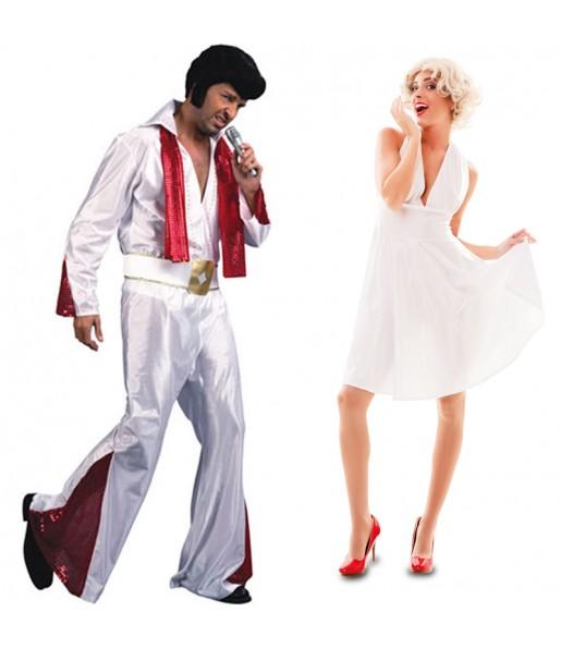 Déguisements Elvis et Marilyn
