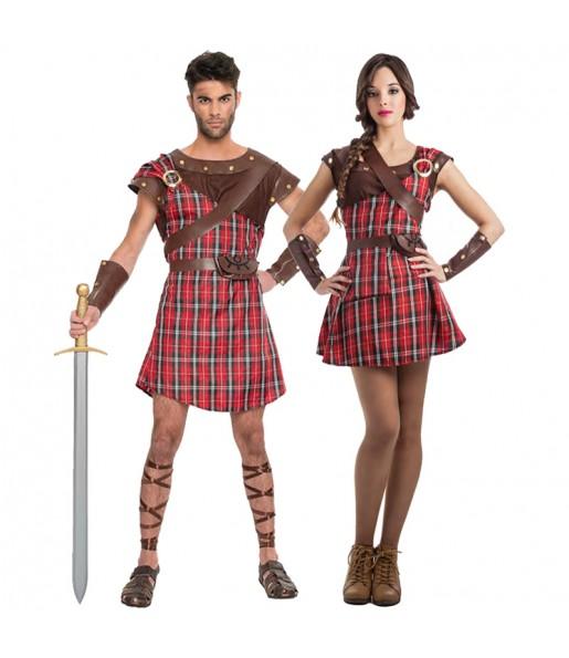 Déguisements Guerriers Écossais Braveheart