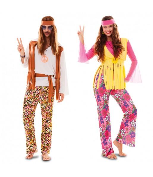 Déguisements Hippie Peace and love