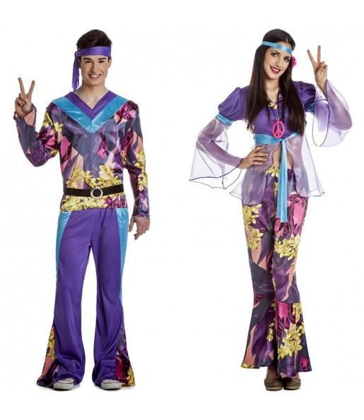 Déguisements Hippie Woodstock