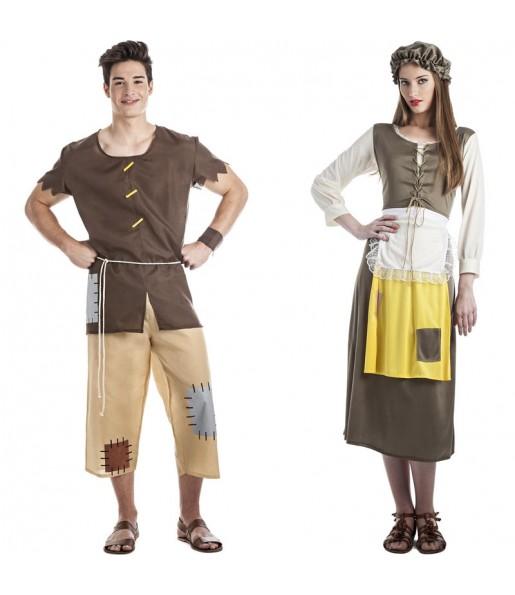 Déguisements Mendiants Médiévaux