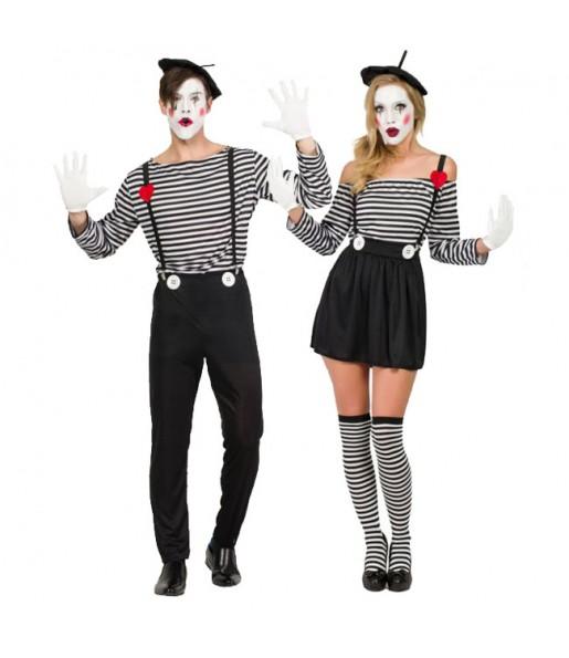 Déguisements Mimes Clowns