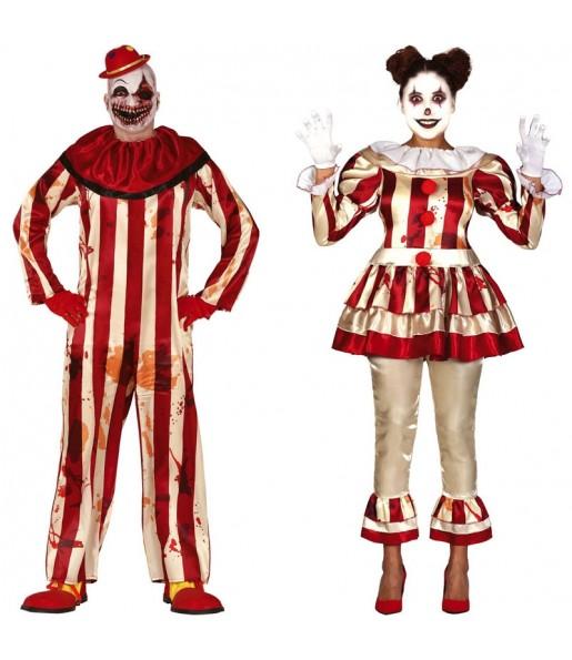 Déguisements Clowns Perturbés