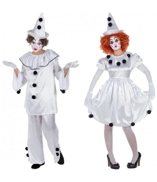 Déguisements Clowns Pierrot