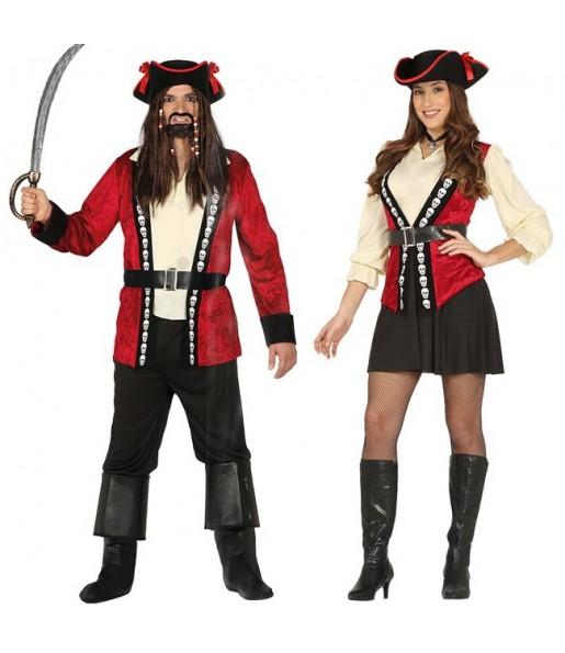 Déguisements Capitains Pirates