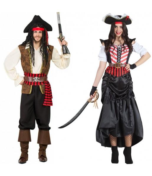 Déguisements Pirates îles des Caraïbes