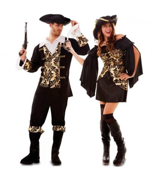 Déguisements Pirates Dorés