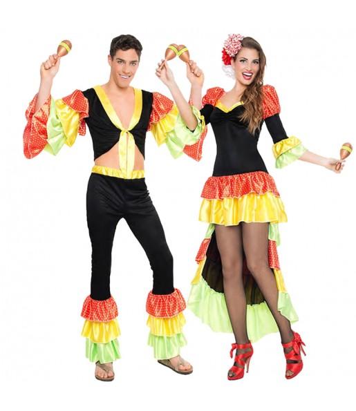Déguisement Danseurs Rumba Maracas