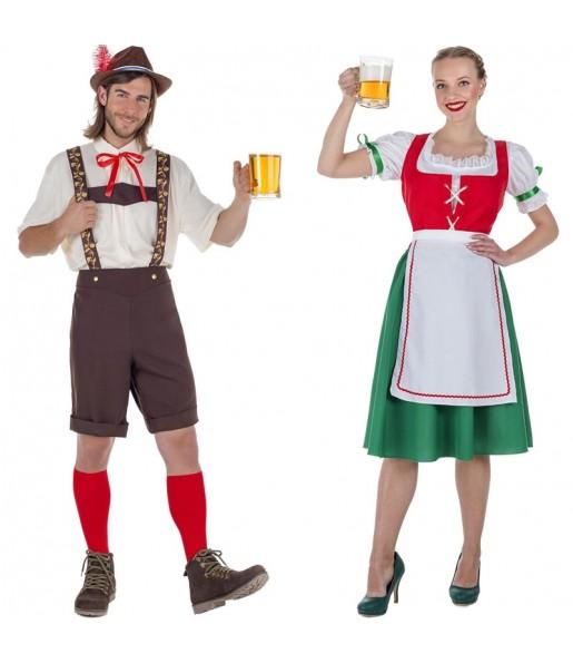 Déguisements Tyroliens Oktoberfest