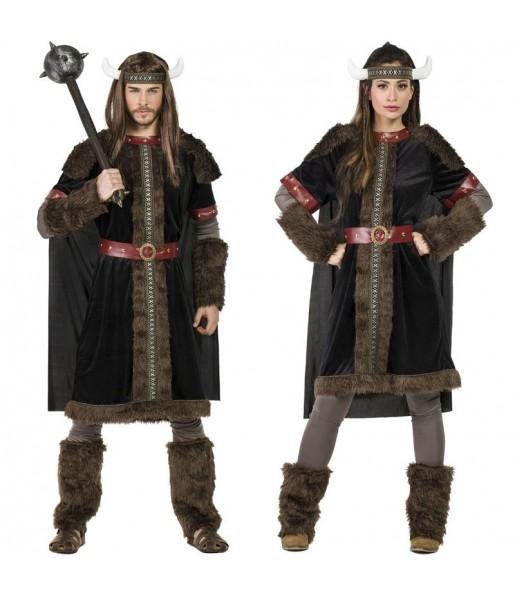 Déguisements Vikings Black