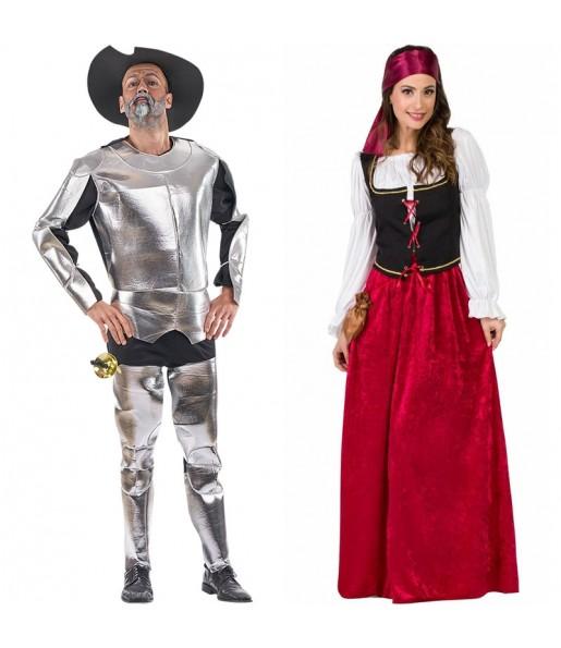 Déguisements Don Quichotte et Dulcinée