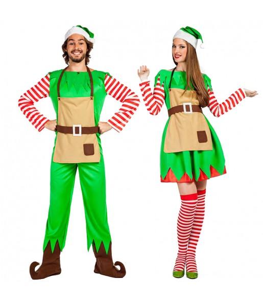 Déguisements Elfes Père Noël