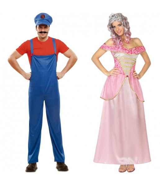 Déguisements Super Mario et Princesse