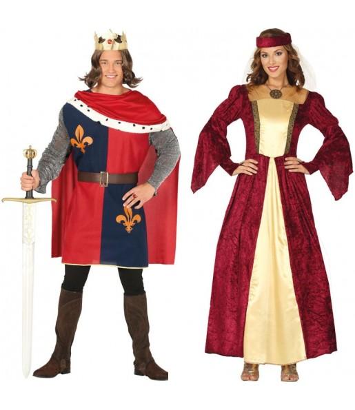 Déguisements Rois Médiévaux Rouges