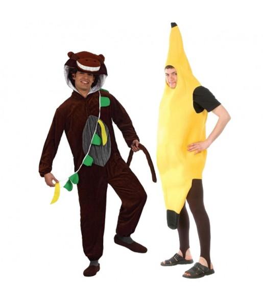 Déguisements Singe et Banane