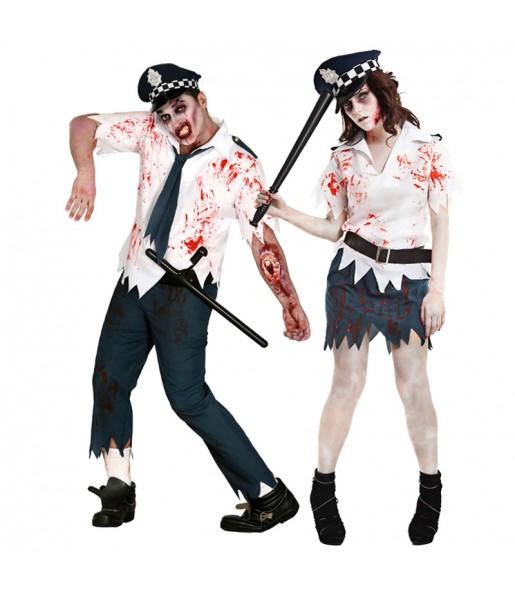 Déguisements Policiers Zombies