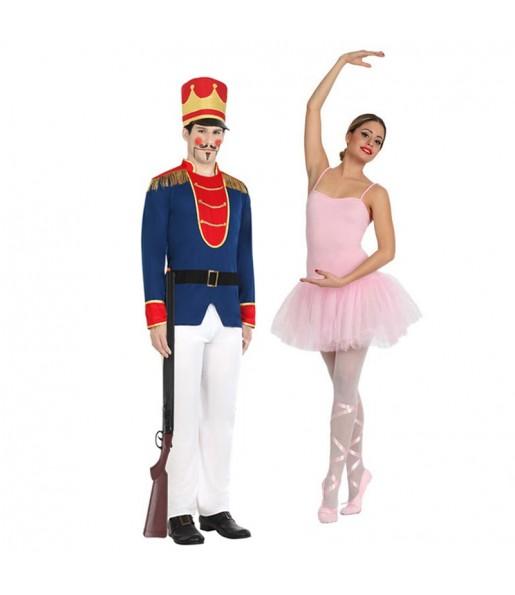 Déguisements Soldat Plomb et Danseuse Ballet