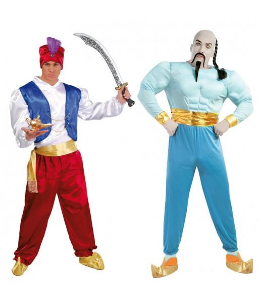Déguisements Aladdin et Le Génie