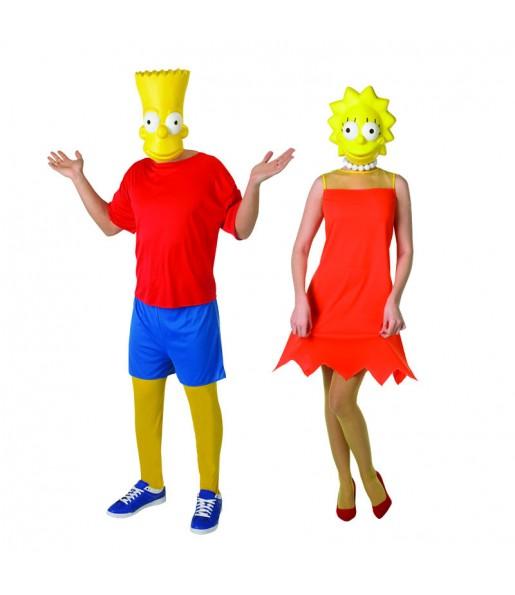 Déguisements The Simpsons™ - Bart et Lisa