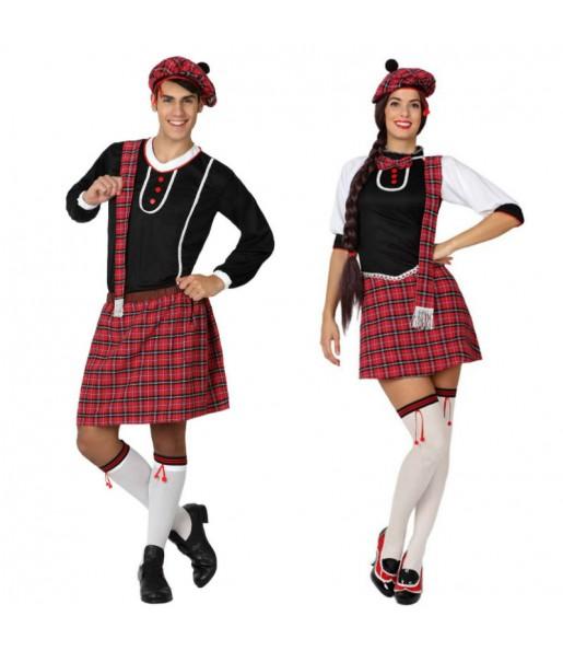 Déguisements Écossais Kilt