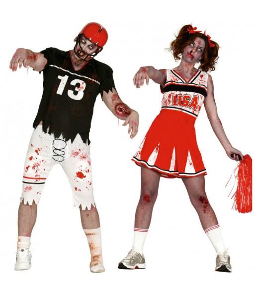 Déguisements Football Américain Zombies