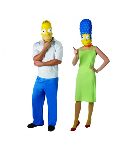 Déguisements The Simpsons™ - Homer et Marge