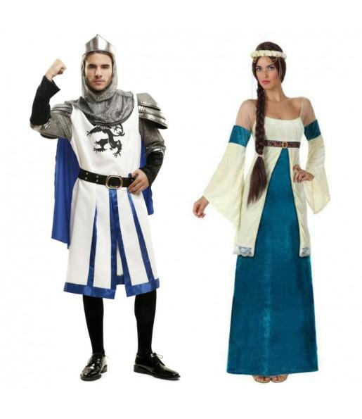 Déguisements Médiévaux Bleus