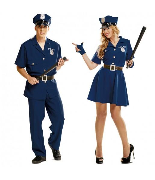 Déguisements Policiers Bleus