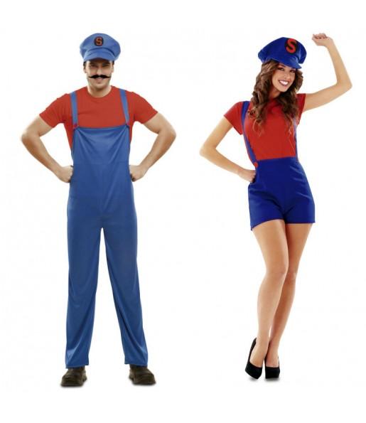 Déguisements Super Couple Mario