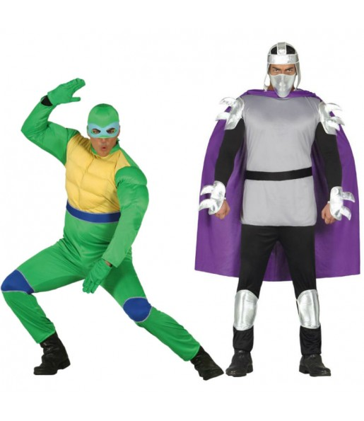Déguisements TMNT - Tortue et Shredder