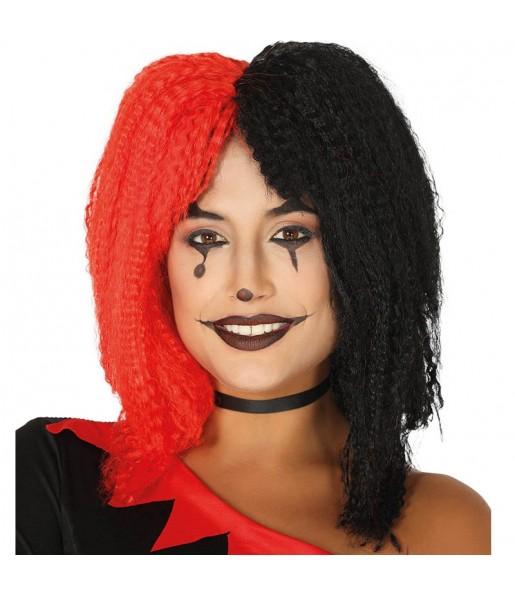 Perruque Arlequin Halloween