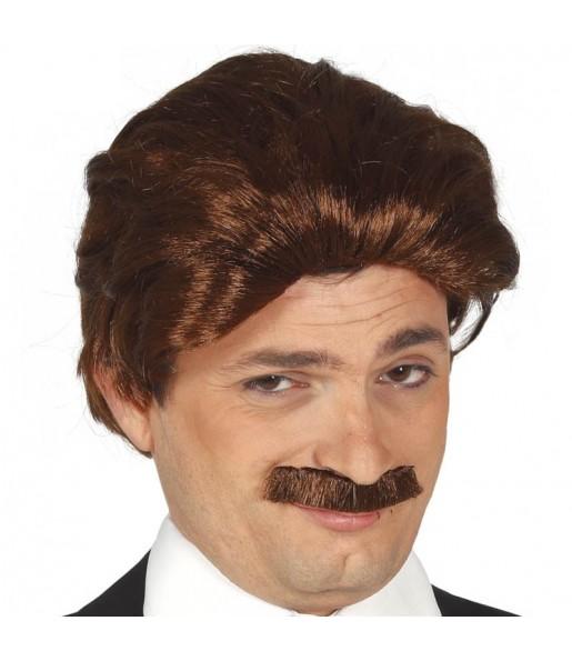 Perruque et moustache années 70