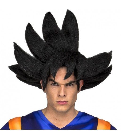 Perruque Goku adulte