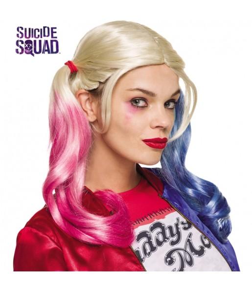 Perruque Harley Quinn femme
