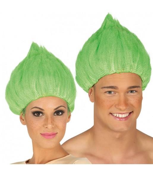 Perruque Troll Verte