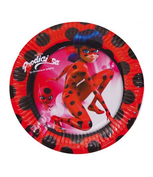 Plats moyens anniversaire Ladybug®