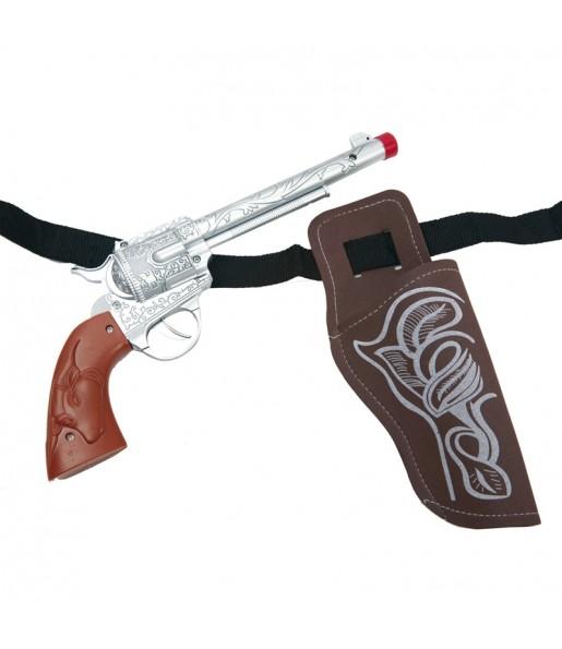 Pistolet avec holster Cowboy